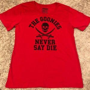 The Goonies/Never Die/T-Shirt/Skull/2X/Warner Bros